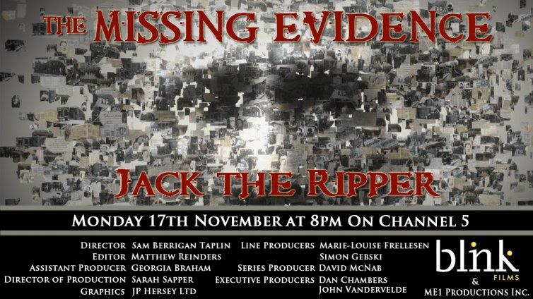 The Missing Evidence – Jack the Ripper