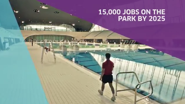 Apprentices at London Olympic Park